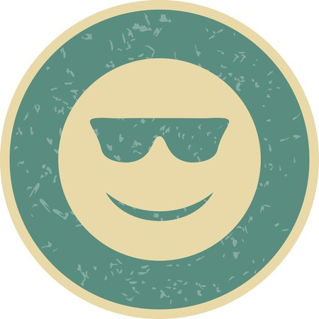 Cool Emoji Vector Icon Sign Icon Vector Illustration For Personal And Commercial Use...Clean Look Trendy Icon...