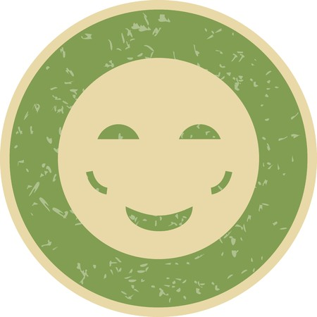 Blush Emoji Vector Icon Sign Icon Vector Illustration For Personal And Commercial Use... Clean Look Trendy Icon... Ilustração