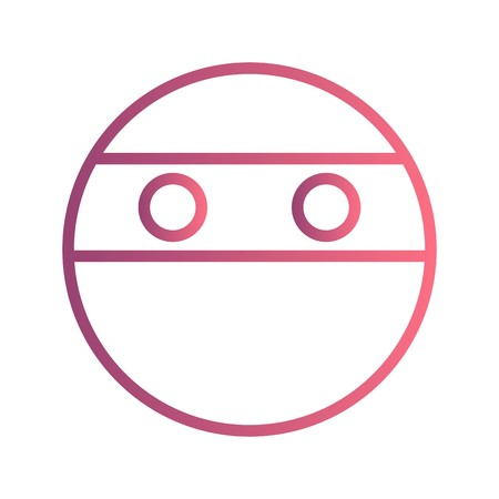 Ninja Emoji Vector Icon Sign Icon Vector Illustration For Personal And Commercial Use...Clean Look Trendy Icon...
