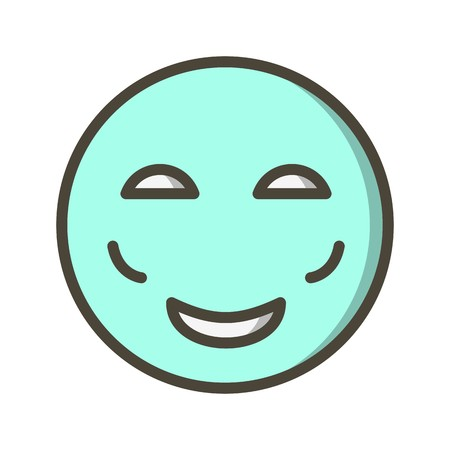 Blush Emoji Vector Icon Sign Icon Vector Illustration For Personal And Commercial Use... Clean Look Trendy Icon...
