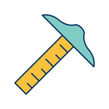 Drafting Tool Vector Icon Sign Icon Vector Illustration For Personal And Commercial Use...Clean Look Trendy Icon...