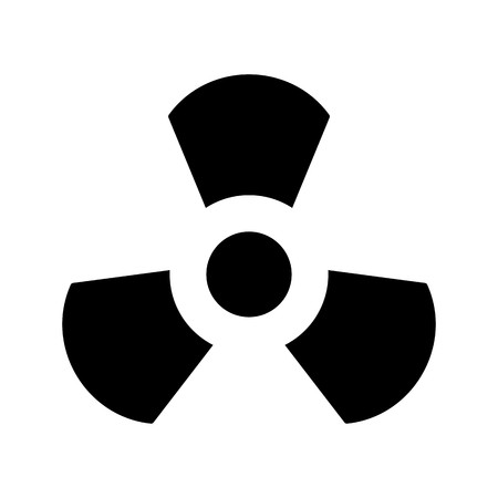 Radiation Vector Icon Sign Icon Vector Illustration For Personal And Commercial Use...Clean Look Trendy Icon... Imagens - 112744270