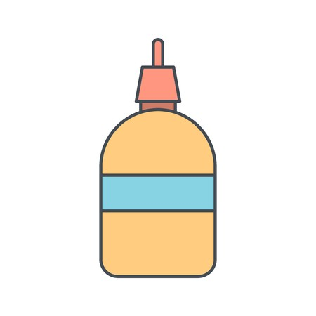 Glue Vector Icon Sign Icon Vector Illustration For Personal And Commercial Use...