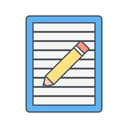 Post it Vector Icon Sign Icon Vector Illustration For Personal And Commercial Use...Clean Look Trendy Icon...