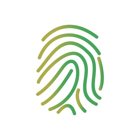 Finger Print Vector Icon Sign Icon Vector Illustration For Personal And Commercial Use...
