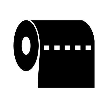 Toilet Paper Vector Icon Sign Icon Vector Illustration For Personal And Commercial Use...
