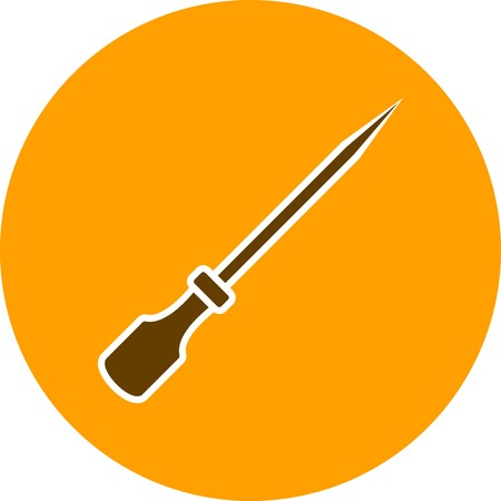 Skewer Vector Icon Sign Icon Vector Illustration For Personal And Commercial Use...