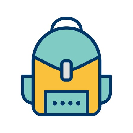 Bag Vector Icon Sign Icon Vector Illustration For Personal And Commercial Use...Clean Look Trendy Icon...