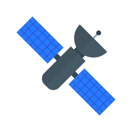 Space Station Vector Icon Sign Icon Vector Illustration For Personal And Commercial Use...Clean Look Trendy Icon... Vektoros illusztráció