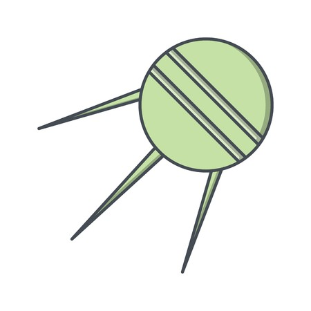 Sputnik Vector Icon Sign Icon Vector Illustration For Personal And Commercial Use...Clean Look Trendy Icon... Illustration