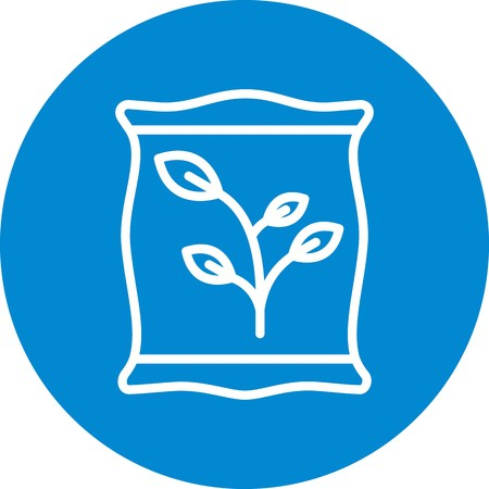 Fertiliizer Vector Icon Sign Icon Vector Illustration For Personal And Commercial Use...Clean Look Trendy Icon...
