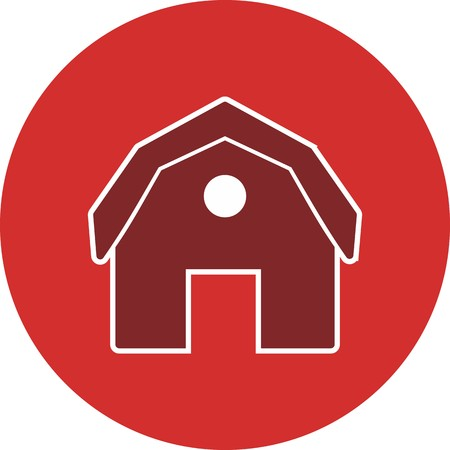 Barn Vector Icon Sign Icon Vector Illustration For Personal And Commercial Use...