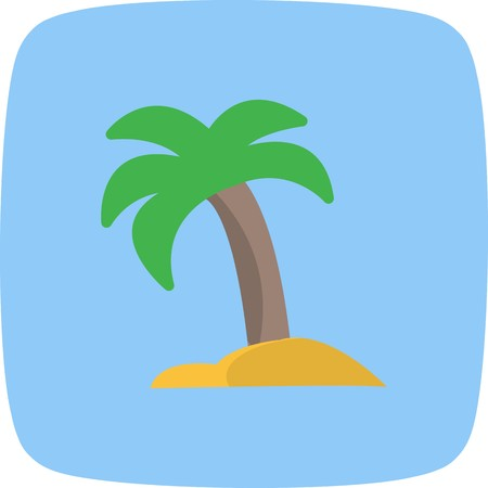 Palm Tree Vector Icon Sign Icon Vector Illustration For Personal And Commercial Use... Clean Look Trendy Icon...