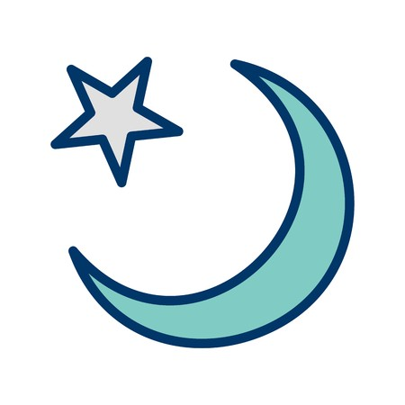 Crescent Moon Vector Icon Sign Icon Vector Illustration For Personal And Commercial Use... Clean Look Trendy Icon...