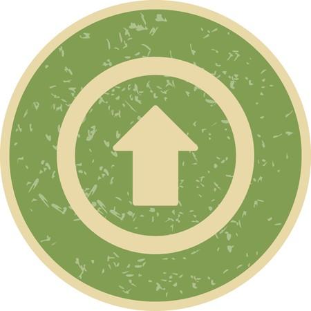 Aller tout droit vecteur Icône Icône de signe Vector Illustration pour utilisation personnelle et commerciale... L'icône de la mode Look propre...