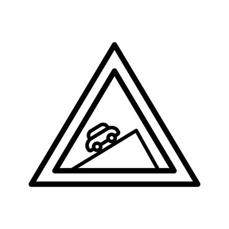 L'icône de l'ascension raide vecteur icône de signe l'illustration vectorielle pour usage personnel et commercial... L'icône de la mode Look propre...
