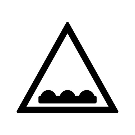 Vector Un-even road Icon Sign Icon Vector Illustration For Personal And Commercial Use... Clean Look Trendy Icon...
