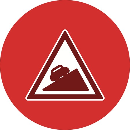Vector Steep ascent Icon Sign Icon Vector Illustration For Personal And Commercial Use... Clean Look Trendy Icon...  Illustration