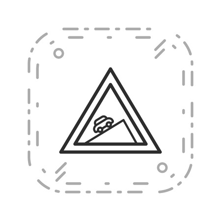 Vector Steep ascent Icon Sign Icon Vector Illustration For Personal And Commercial Use...Clean Look Trendy Icon...
