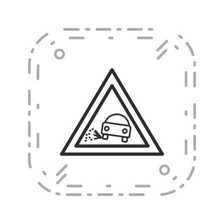 Vector Lose gravel Icon Sign Icon Vector Illustration For Personal And Commercial Use... Clean Look Trendy Icon...