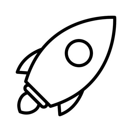 Vector Launch Icon Stock Vector - 126793174