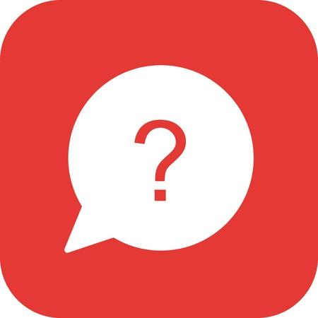 Vector Question Icon Illustration