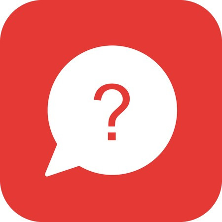 Vector Question Icon Иллюстрация