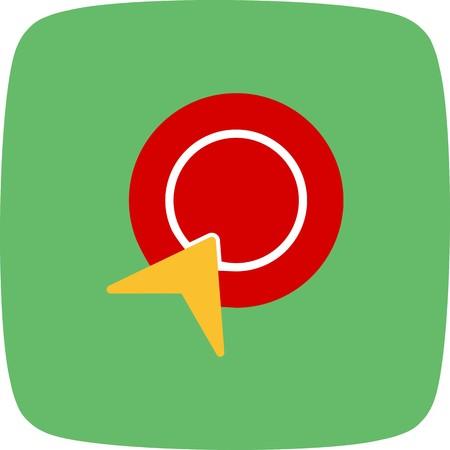Vector Pay Per Click Icon