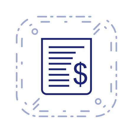 Vector Receipt Icon