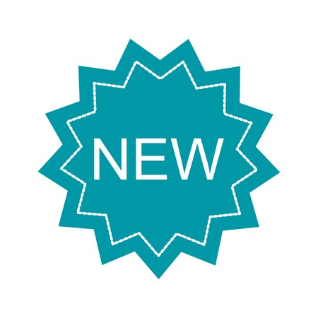 Vector New Icon Иллюстрация