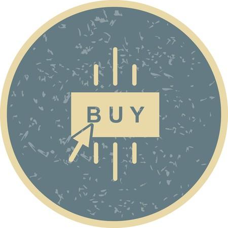 Vector Buy Icon Иллюстрация