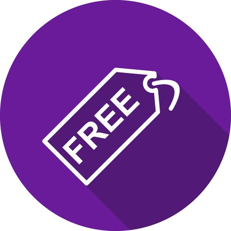 Vector Free Tag Icon 일러스트