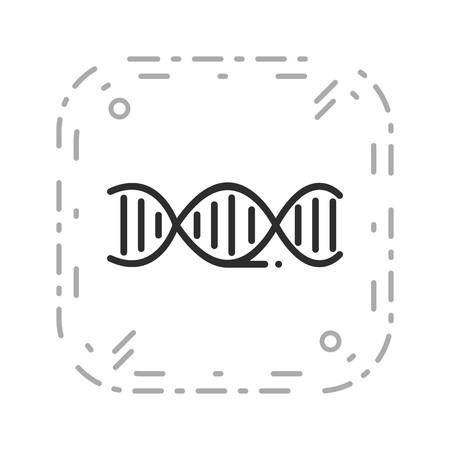 Vector DNA Icon Stock Vector - 126569488