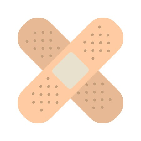Vector Bandage Icon