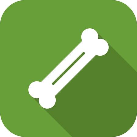 Vector Bone Icon Stock Illustratie