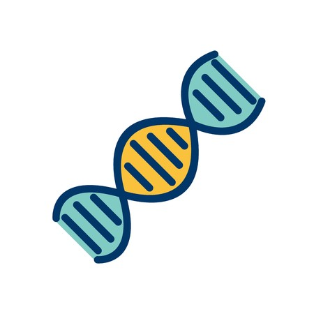 Vector DNA Icon Stock Vector - 126569848