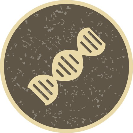 Vector DNA Icon Stock Vector - 126574160