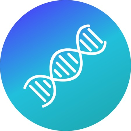 Vector DNA Icon Stock Vector - 126574220