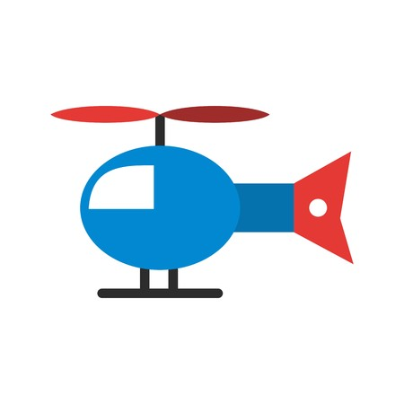 Vector Helicopter Icon Stock fotó - 126544730