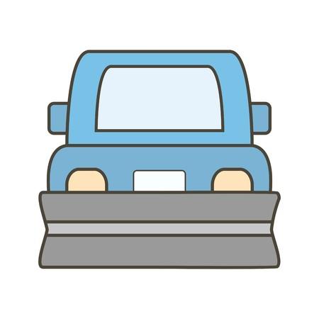 Vector Snowplow Icon
