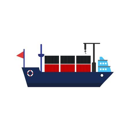 Vector Ship Icon
