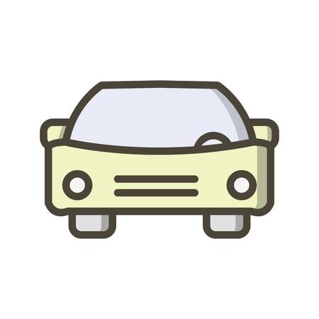 Vector Car Icon Vector Illustration
