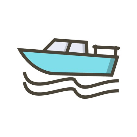 Vector Boat Icon 向量圖像