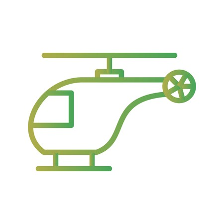 Vector Helicopter Icon