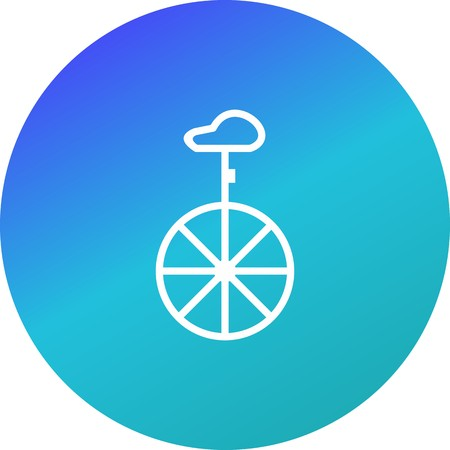 Vector Unicycle Icon