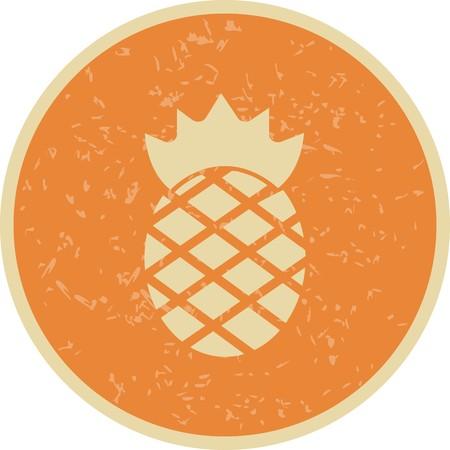 Vector Pineapple Icon