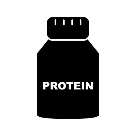Vector Protein Icon Illustration