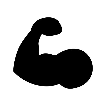 Vector Body Building Icon