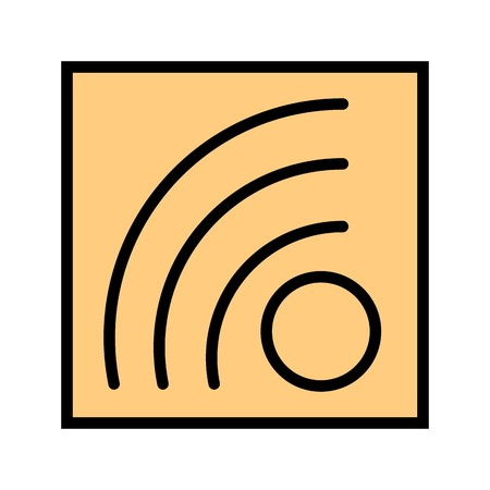Vector RSS Feed Icon