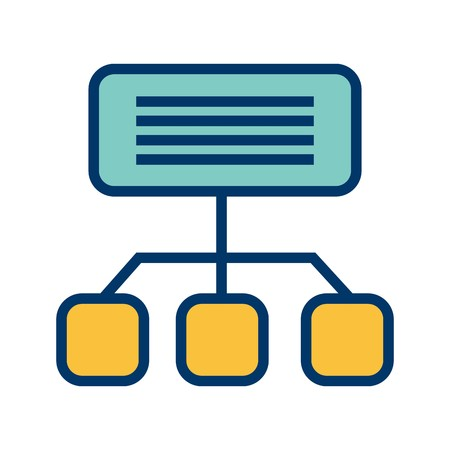 Vector Sitemap Icon